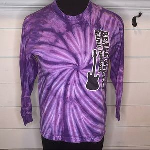 Other - Beale street purple tie dye t shirt